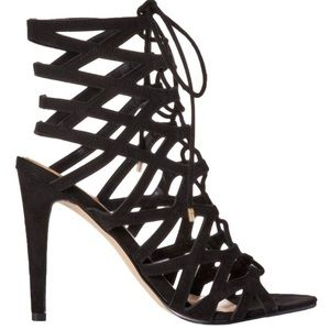 New in Box Aldo Lace Up Cage High Heel Sandals